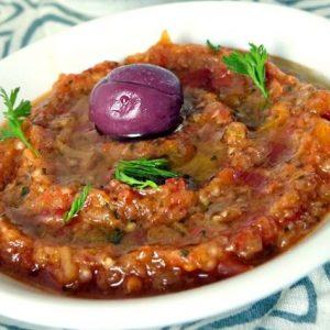 CHEChermoula Zaalouk aux Aubergines - Sachet culinaire - Comme chez la maman